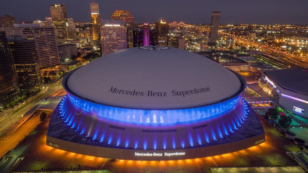 alliedpra corporate events mercedes benz superdome